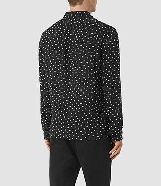 Mens Yuma Shirt (Black) - product_image_alt_text_3