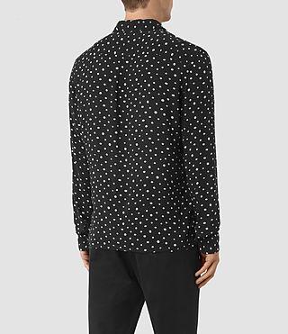 Mens Yuma Shirt (Black) - product_image_alt_text_3