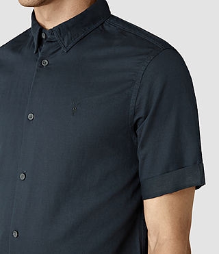 Hombres Hermosa Short Sleeve Shirt (INK NAVY) - product_image_alt_text_4