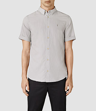 Mens Hermosa Short Sleeve Shirt (MIRAGE BLUE)