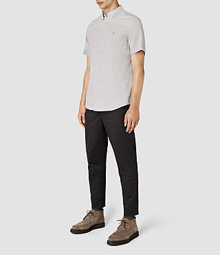 Uomo Hermosa Short Sleeve Shirt (MIRAGE BLUE) - product_image_alt_text_2