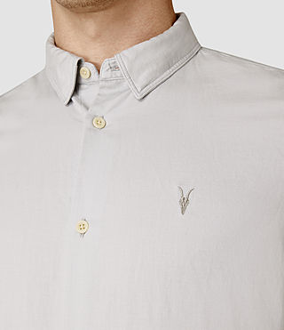 Hombre Hermosa Short Sleeve Shirt (MIRAGE BLUE) - product_image_alt_text_4