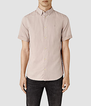 Hommes Hermosa Short Sleeve Shirt (Sphinx Pink) -