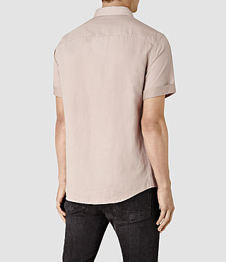 Men's Hermosa Short Sleeve Shirt (Sphinx Pink) - product_image_alt_text_3