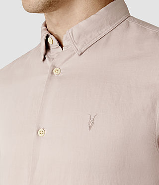 Hommes Hermosa Short Sleeve Shirt (Sphinx Pink) - product_image_alt_text_4