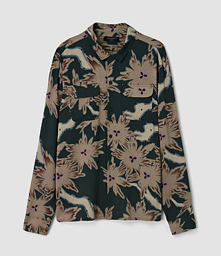 Hombre Shonto Shirt (Bottle Green) - product_image_alt_text_2