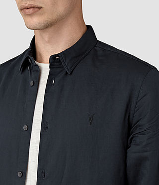 Mens Hermosa Shirt (INK NAVY) - product_image_alt_text_3