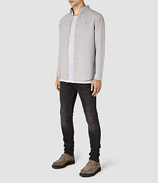 Herren Hermosa Ls Shirt (MIRAGE BLUE) - product_image_alt_text_2