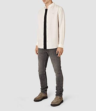 Hombre Hermosa Ls Shirt (ECRU WHITE) - product_image_alt_text_2