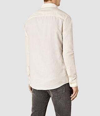 Hombres Hermosa Shirt (ECRU WHITE) - product_image_alt_text_3