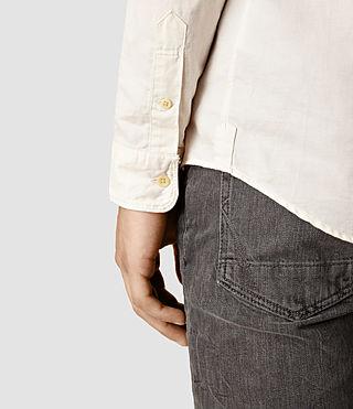 Hombre Hermosa Ls Shirt (ECRU WHITE) - product_image_alt_text_4