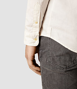 Hombres Hermosa Shirt (ECRU WHITE) - product_image_alt_text_4