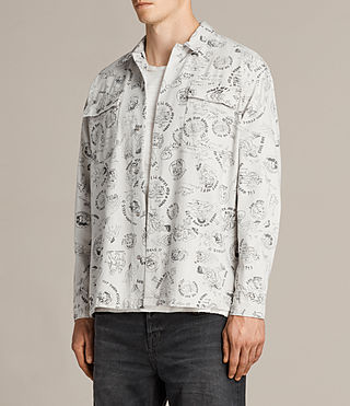 Men's Grande Shirt (Ecru) - product_image_alt_text_3