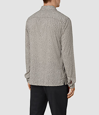 Hombres Peck Ls Shirt (Chrome Grey) - product_image_alt_text_3