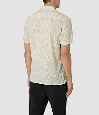 Hombres Peck Short Sleeve Shirt (Chalk White) - product_image_alt_text_3