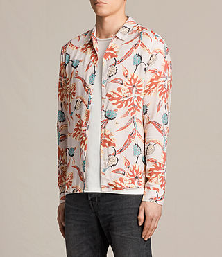 Men's Pipeline Shirt (ROSE GREY) - product_image_alt_text_2