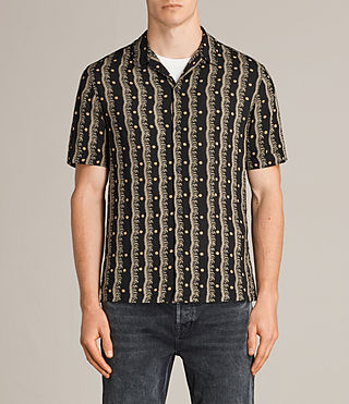 Men's Laurel Short Sleeve Shirt (Black) - Image 1