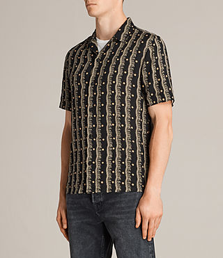 Men's Laurel Short Sleeve Shirt (Black) - Image 3