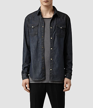 Men's Miffit Denim Shirt (Indigo)