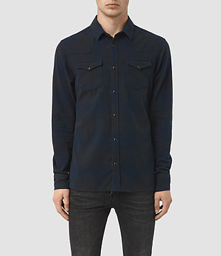 Hommes Bigfork Ls Shirt (Ink)