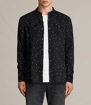 Mens Orion Shirt (Jet Black) - product_image_alt_text_1