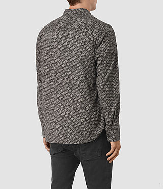 Hombres Girard Shirt (Washed Black) - product_image_alt_text_3