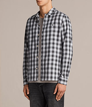 Men's Chino Shirt (Black/White) - Image 3
