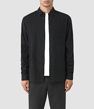 Mens Coteau Shirt (Black) - product_image_alt_text_1