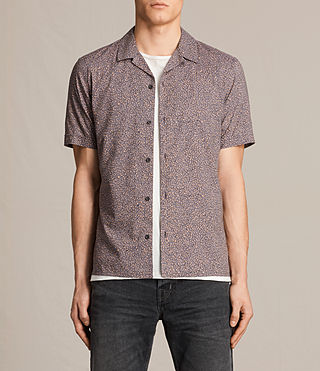 Hommes Wasco Short Sleeve Shirt (COAL GREY) -