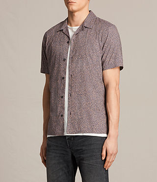 Hommes Wasco Short Sleeve Shirt (COAL GREY) - product_image_alt_text_2