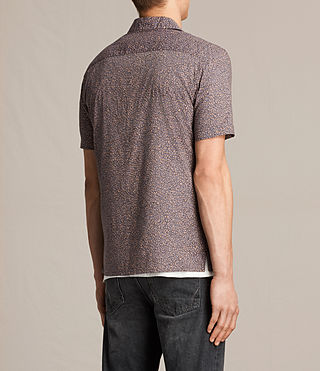 Hommes Wasco Short Sleeve Shirt (COAL GREY) - product_image_alt_text_3