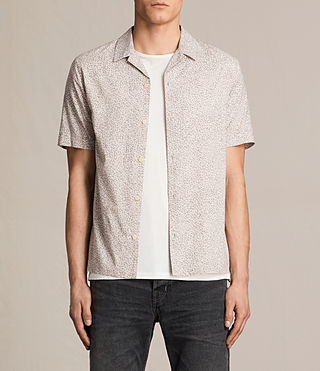 Hommes Wasco Short Sleeve Shirt (ROSE GREY)
