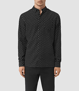Mens Trego Shirt (Black)