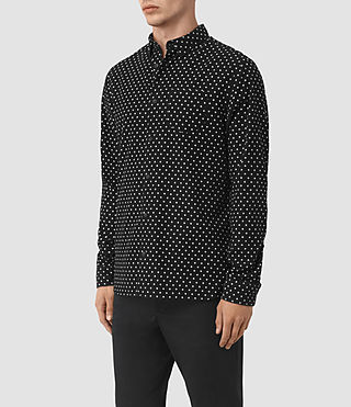 Mens Trego Shirt (Black) - product_image_alt_text_2