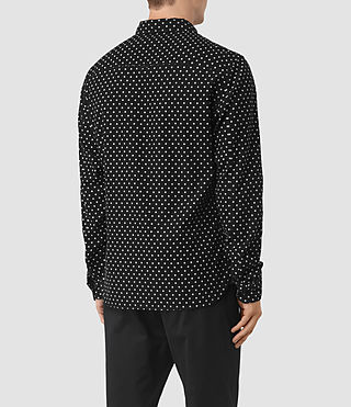 Mens Trego Shirt (Black) - product_image_alt_text_3