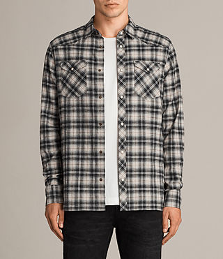 Men's Jacinto Shirt (Ecru) - Image 1