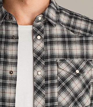 Men's Jacinto Shirt (Ecru) - Image 2