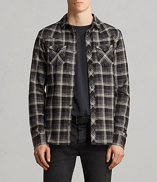 Mens Blackroad Shirt (Black) - Image 1