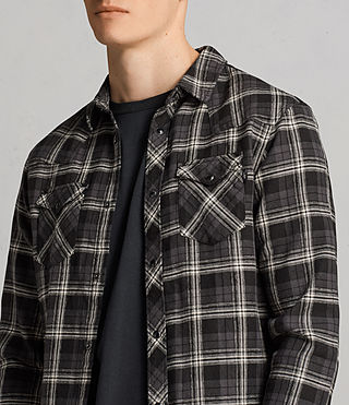 Mens Blackroad Shirt (Black) - Image 2
