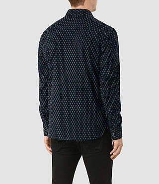 Uomo Camicia Rosebud (Dark Ink) - product_image_alt_text_3