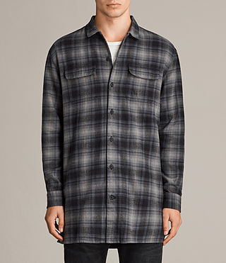 Mens Laconia Shirt (MOSS GREY) - Image 1