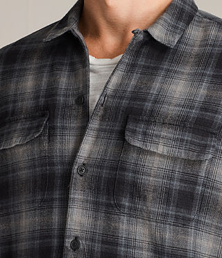 Mens Laconia Shirt (MOSS GREY) - Image 2