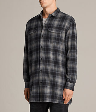 Men's Laconia Shirt (MOSS GREY) - product_image_alt_text_3