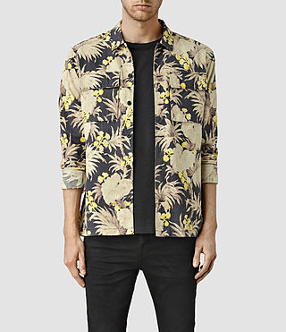 Mens Midway Shirt (Washed Black)