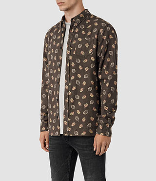 Mens Wieppe Shirt (Umber) - product_image_alt_text_2