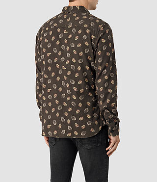 Mens Wieppe Shirt (Umber) - product_image_alt_text_3