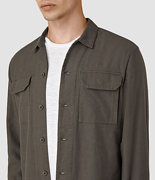Men's Guerra Shirt (Khaki) - product_image_alt_text_2