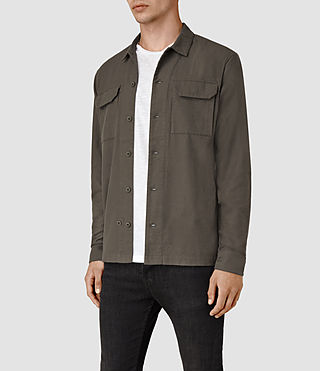 Men's Guerra Shirt (Khaki) - product_image_alt_text_3