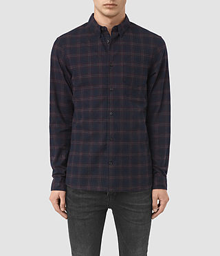 Mens Colfax Shirt (Ink Check) - product_image_alt_text_1