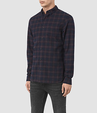 Hombre Colfax Ls Shirt (Ink Check) - product_image_alt_text_2
